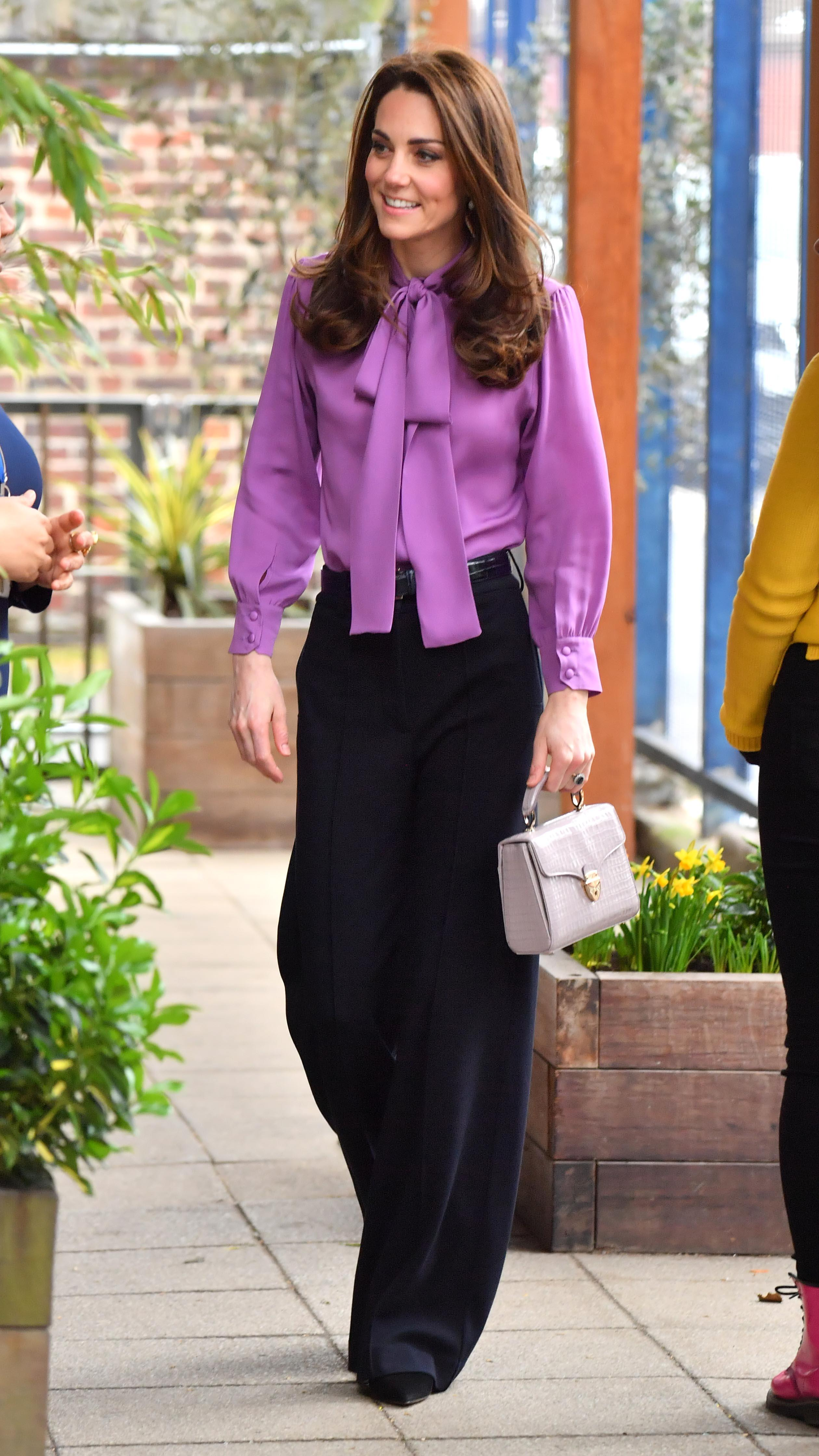 7c7a0857893c Catherine, Duchess of Cambridge visits the Henry Fawcett Children's Centre  on March 12, 2019 in London, England. Photo: Getty Images/Arthur Edwards