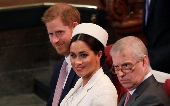Prince Harry Meghan Markle and Prince Andrew