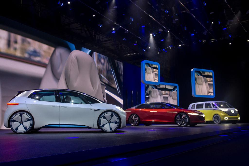 VW vows to build 22-million electric cars over next decade