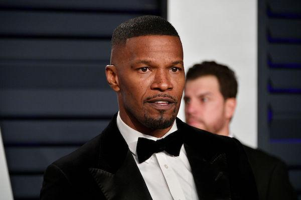 Jamie Foxx is seriously bulking up to star in Mike Tyson biopic