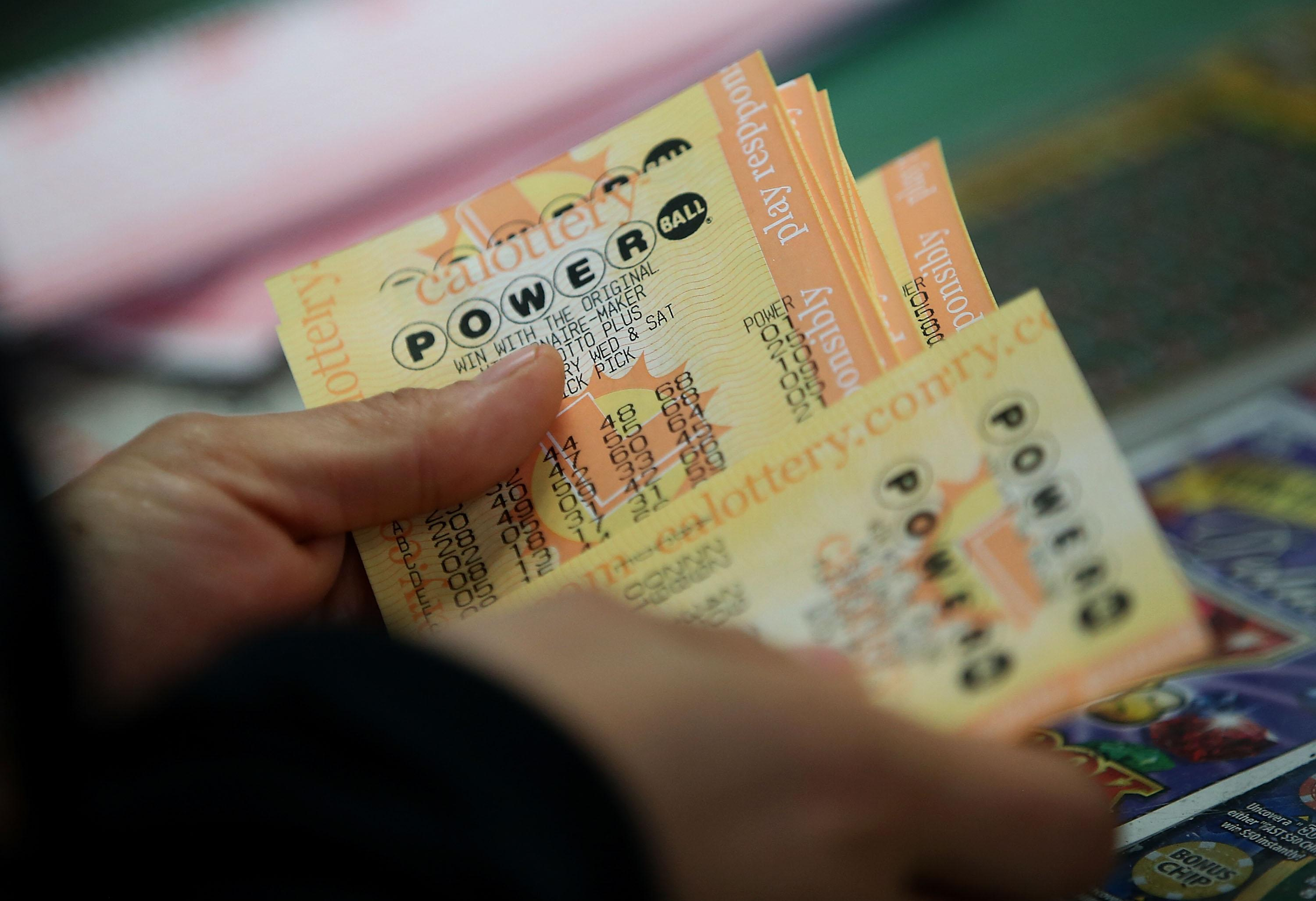 $448M Up For Grabs In Latest Powerball Drawing