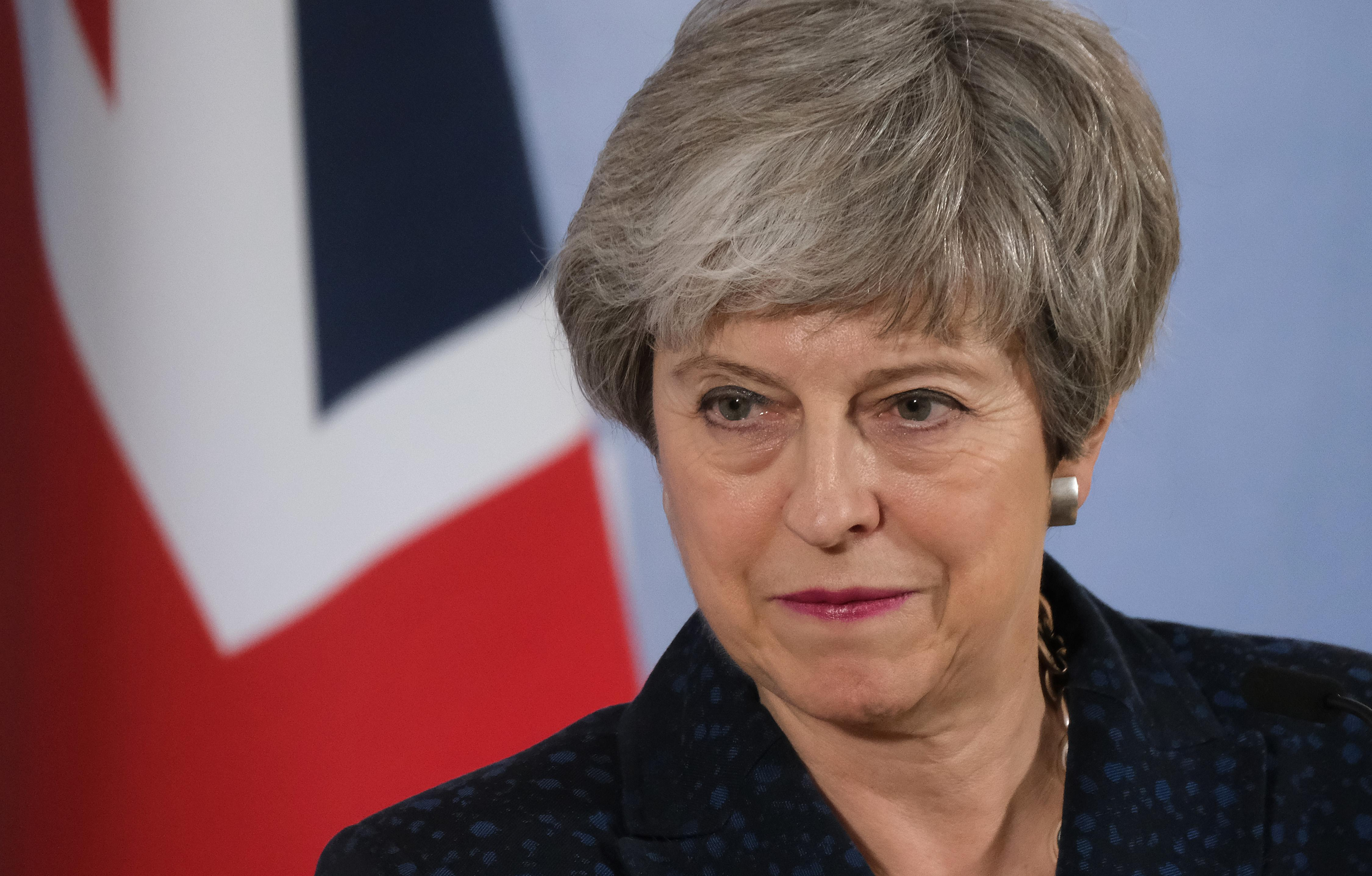 GettyImages-Theresa May March 22