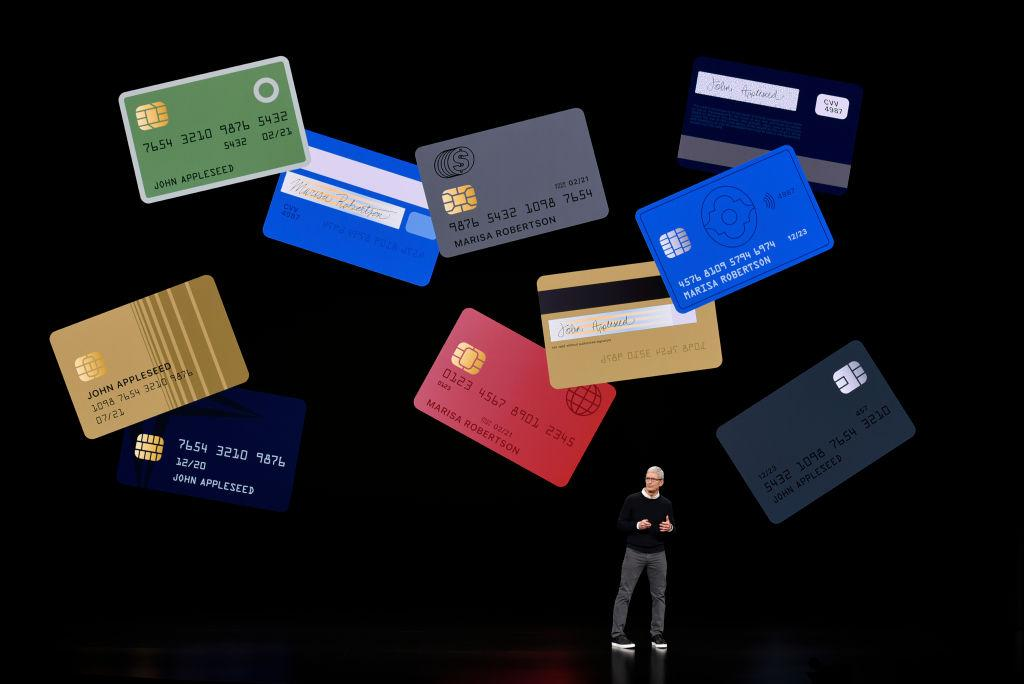 Tim Cook and other credit cards