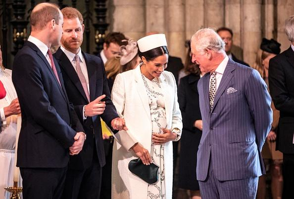 Prince William Prince Harry Meghan Markle and Prince Charles