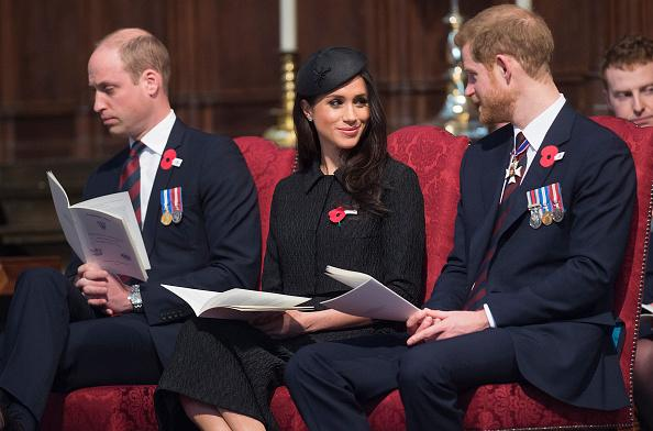 Prince William Meghan Markle and Prince Harry