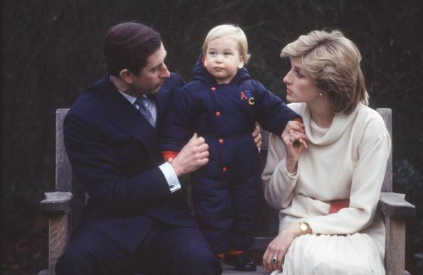 Prince Charles, Prince William, Princess Diana