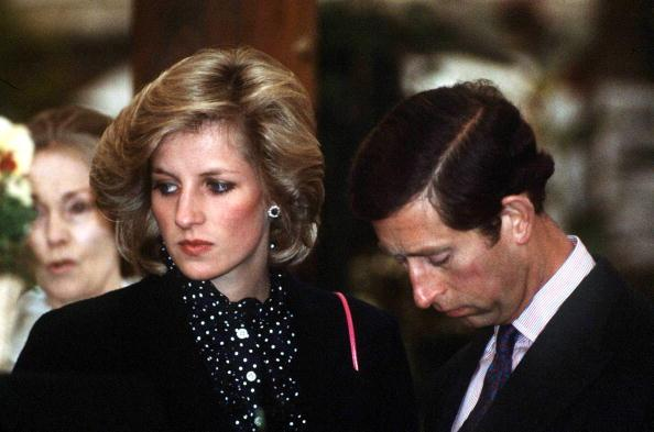 Prince Charles, Princess Diana Look Extremely Awkward In December 1987 Portrait