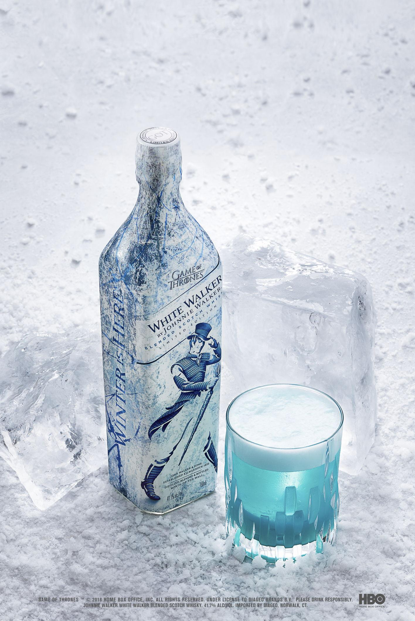The Night King's Sour cocktail