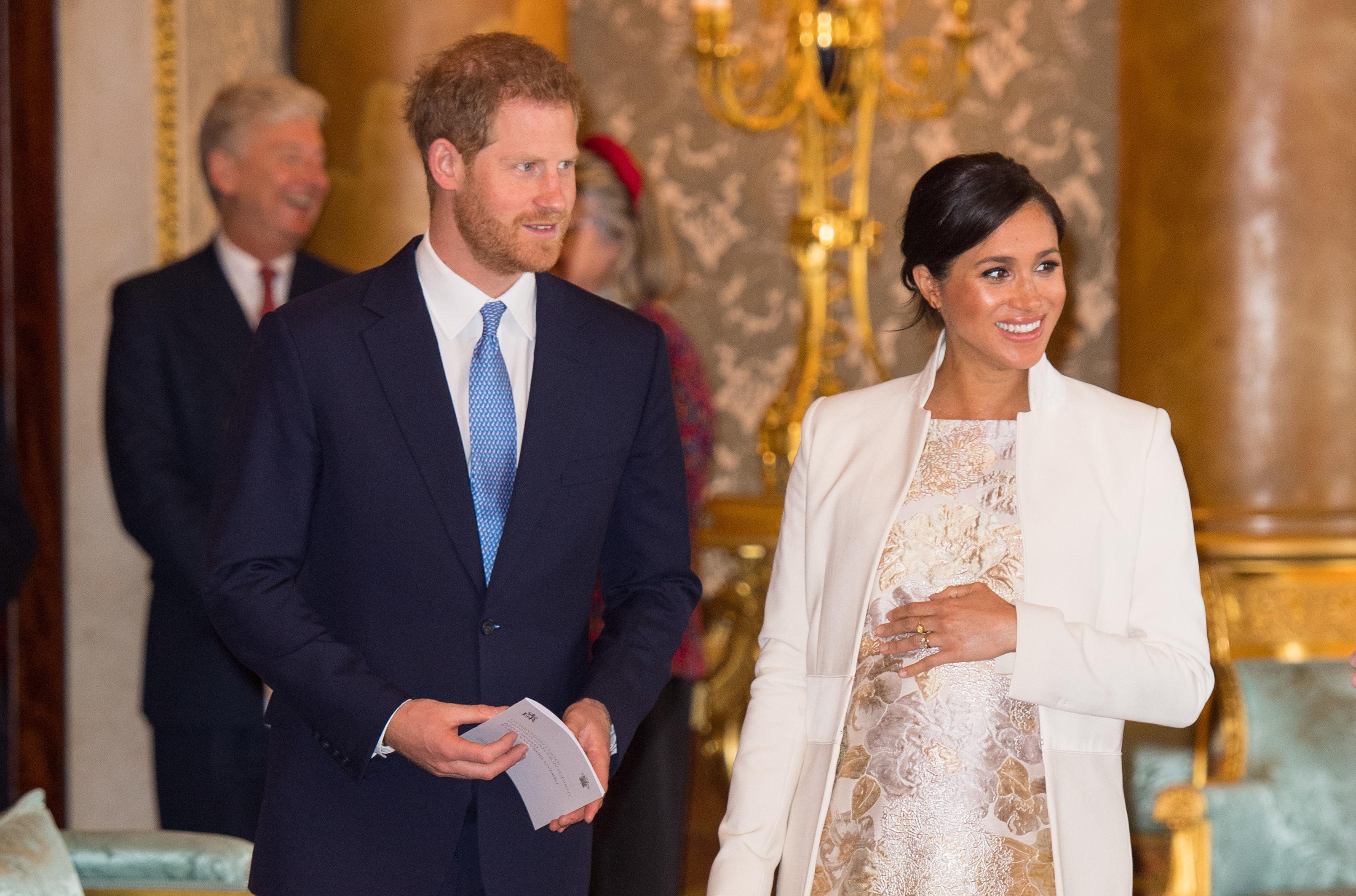 Prince Harry Meghan Markle royal baby photos