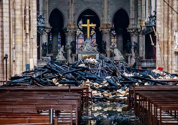 Notre-Dame Cathedral Arson