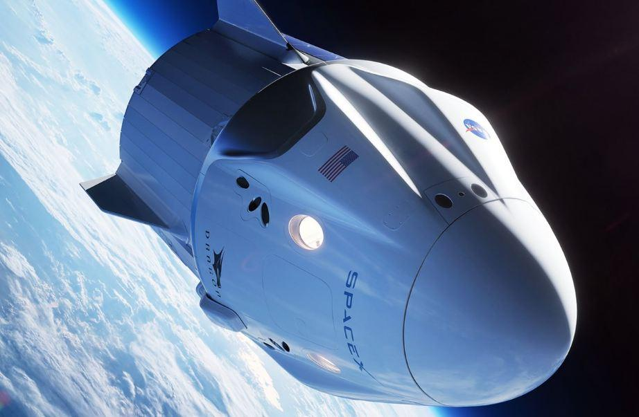 SpaceX Crew Dragon (illustration)