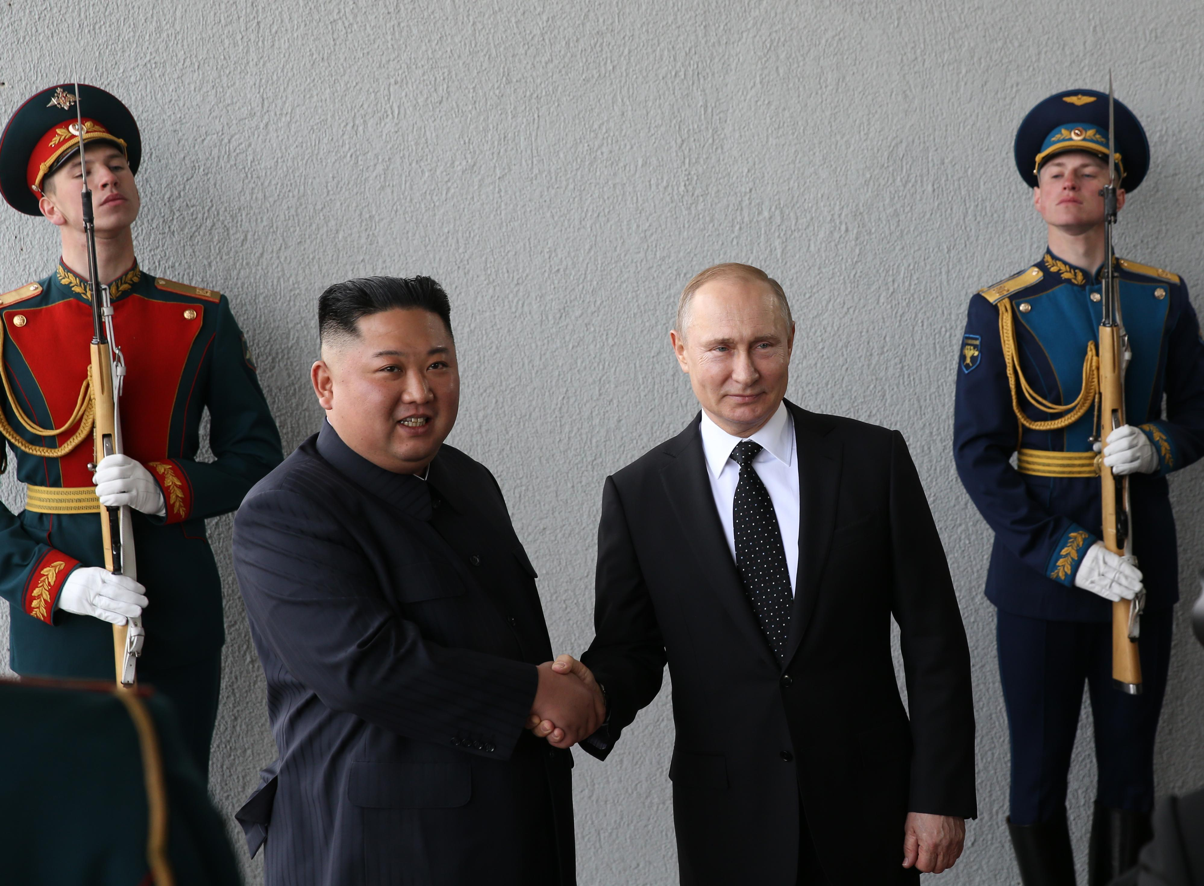 North Korea-Russia Summit