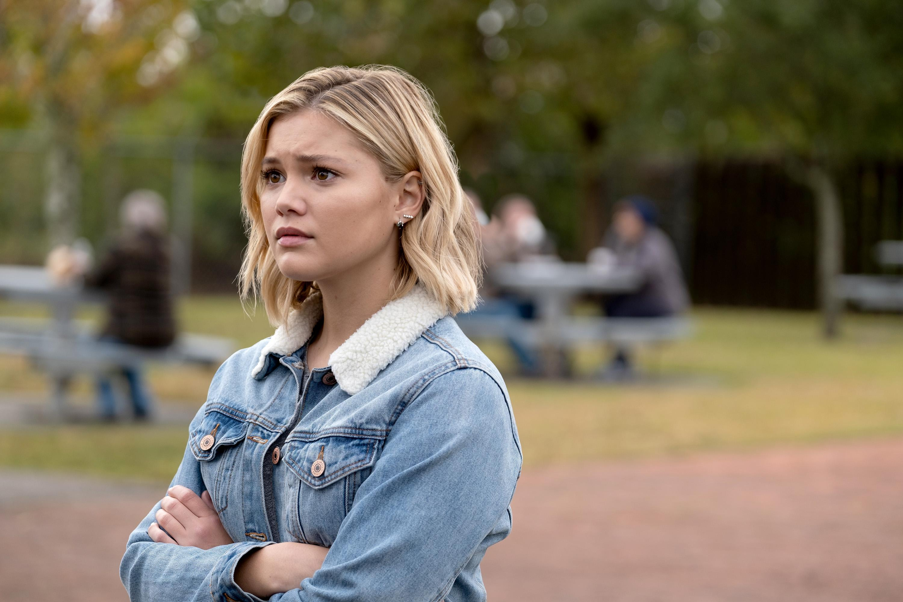 Fotos De Olivia Holt marvel's cloak and dagger' star olivia holt reacts to