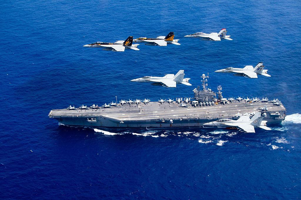U.S. military aircraft Carrier Air Wing and Carrier Air Wing