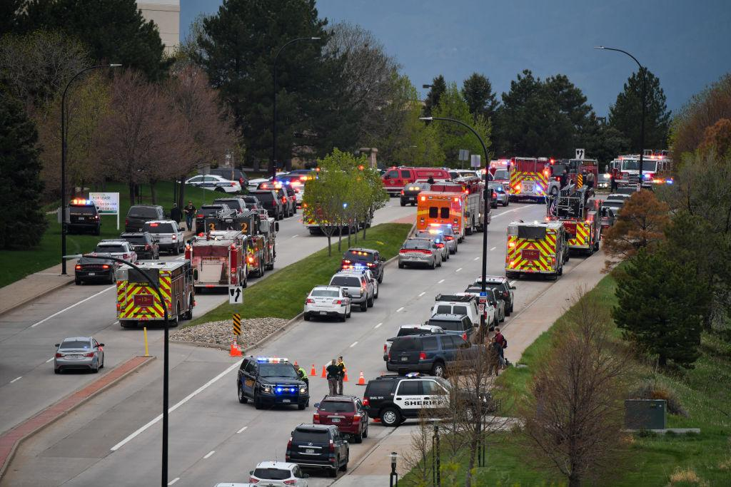 First responders at Colorado school shooting