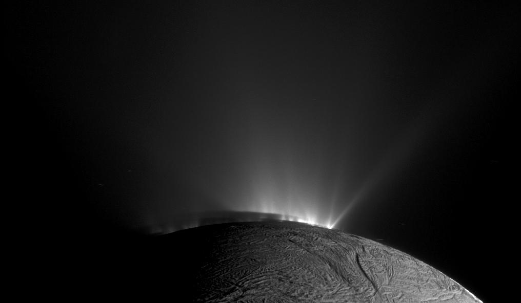 NASA Cassini Moon South Pole