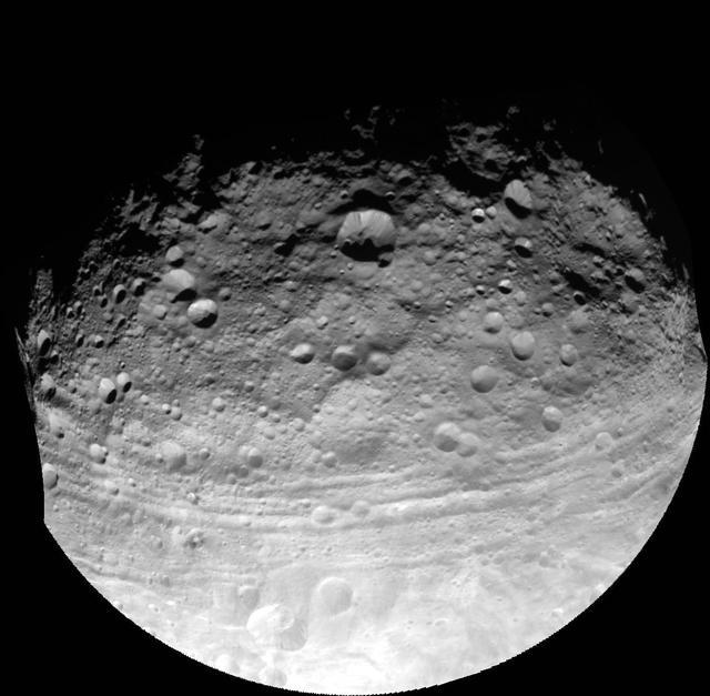 nasa giant asteroid vesta