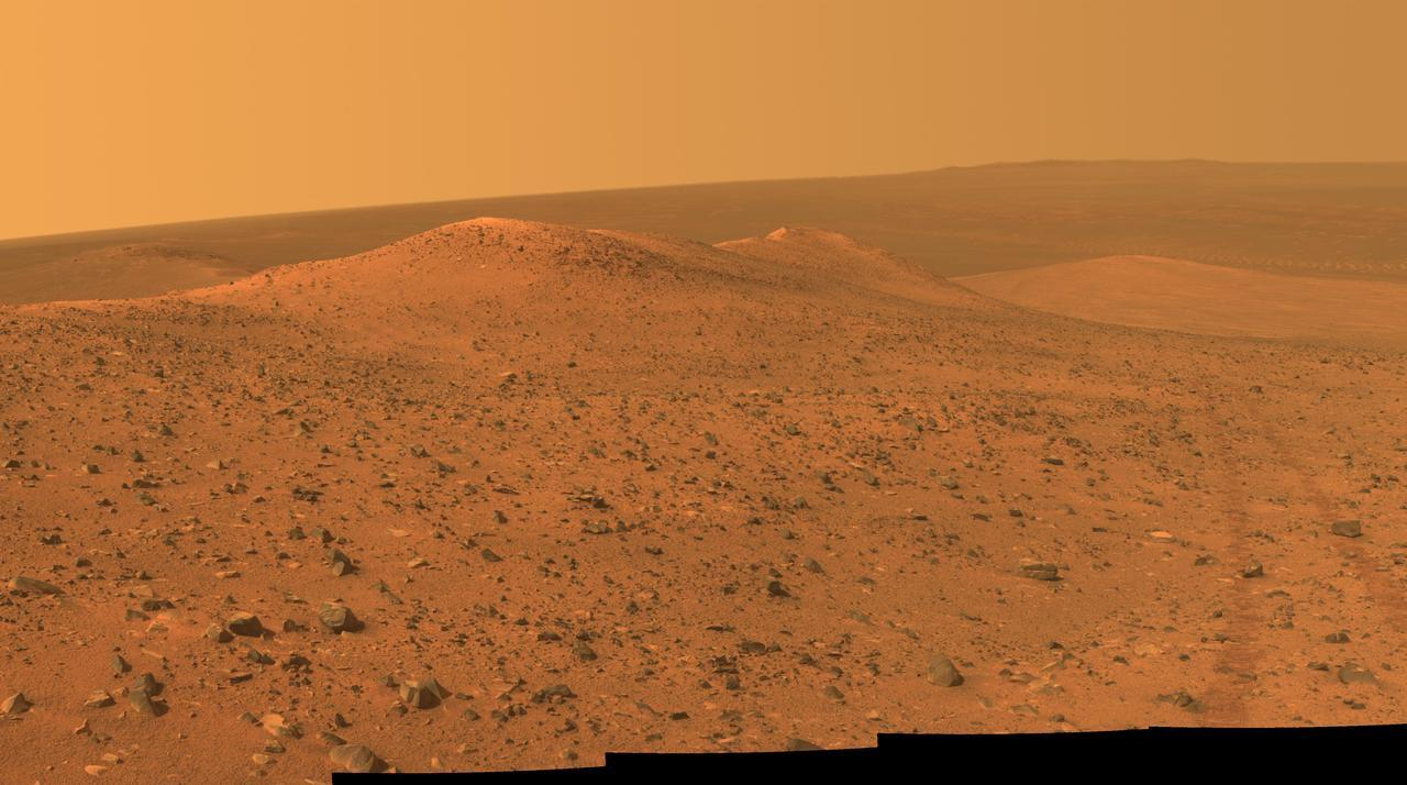 NASA Mars Exploration Rover Opportunity Wdowiak Ridge