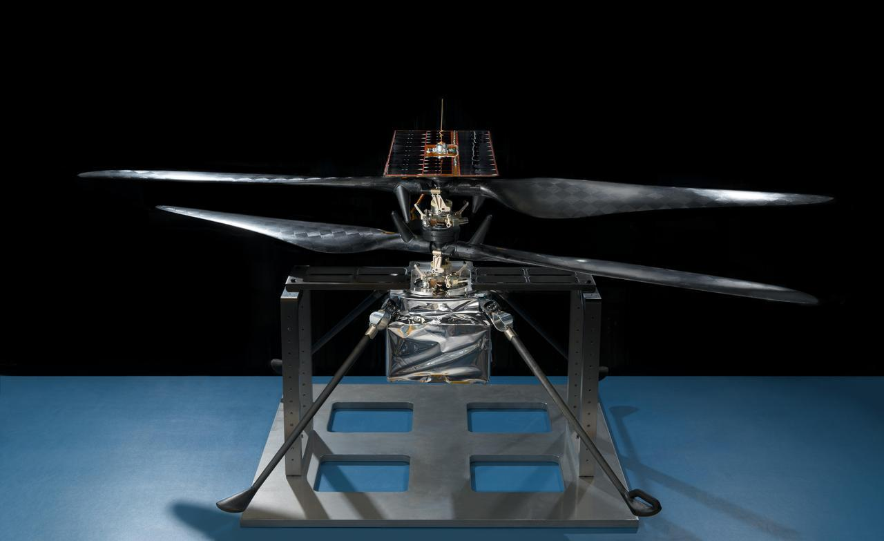 Portrait of NASA's Mars Helicopter