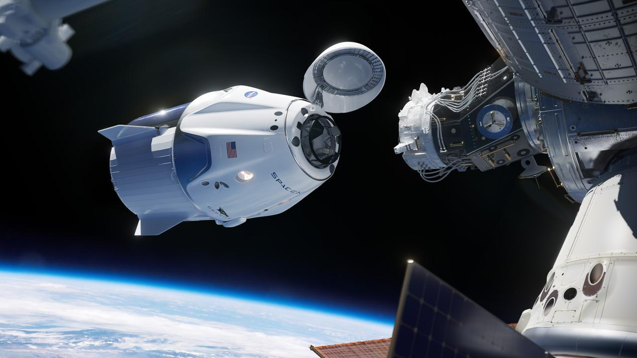 SpaceX Crew Dragon Docking to ISS