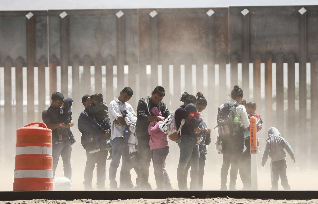 US Mexicor border migrants