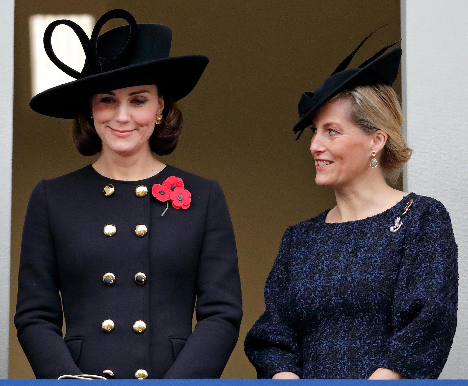 Kate Middleton, Sophie Countess of Wessex