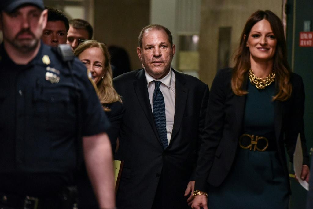 Disgraced movie mogul Harvey Weinstein, whose fall was the most prominent result of the #MeToo movement against sexual harassment and assault