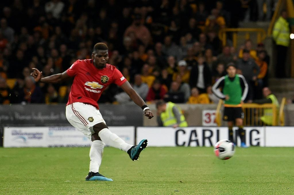 Manchester United's Paul Pogba has now missed four Premier League penalties since the start of last season