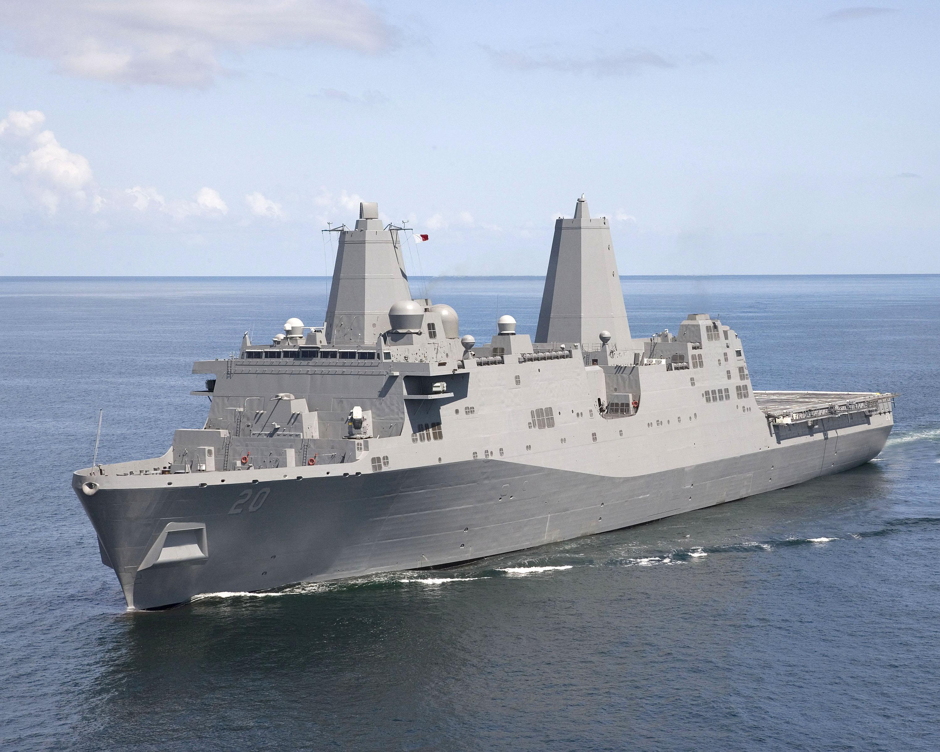 US military ship passes through strategic Taiwan Strait