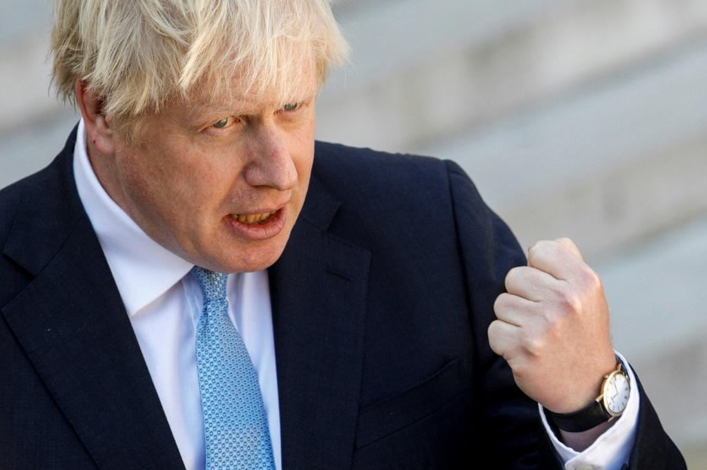 Johnson has been accused of a 'constitutional outrage' over the move