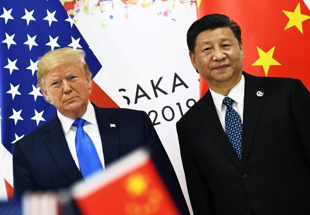China's leadership under President Xi Jinping, seen here with US President Trump during the G20 summit in Japan in June, has shown little sign of giving in to US trade pressure