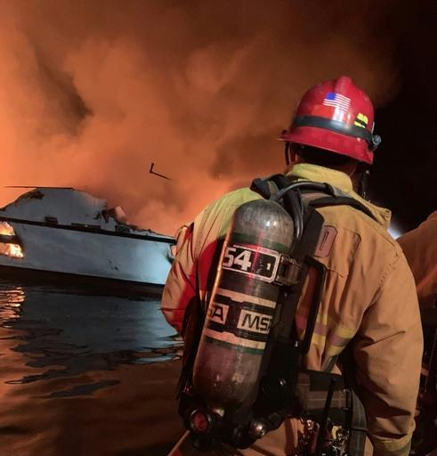 34 people unaccounted for in California boat fire