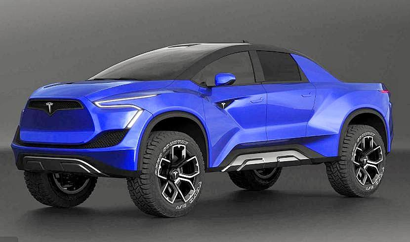 Tesla P for Pickup concept