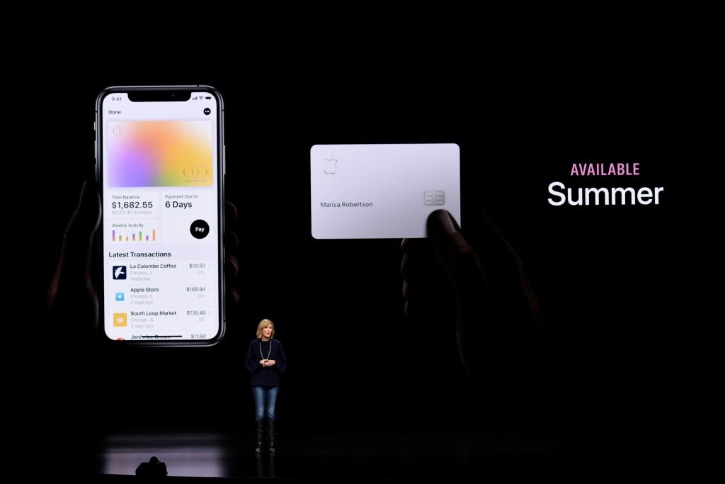Apple Pay and the new Apple credit card are part of the services being emphasized by the iPhone maker to keep customers in its ecosystem