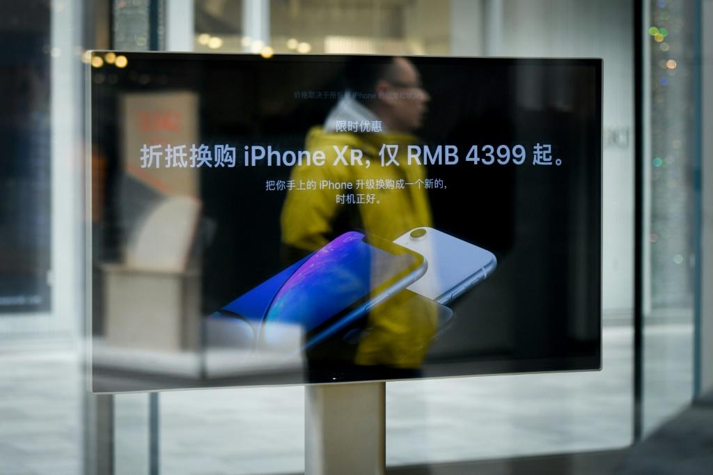 Apple is facing headwinds from US-China trade tensions as it seeks to boost sales in the important Chinese market
