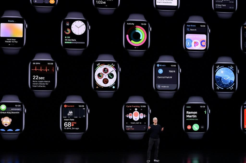 "The fifth-generation Apple Watch has new features including ambient noise monitoring and a ""compass"" to keep users properly oriented"