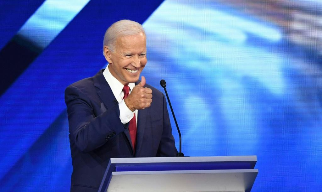 White House candidate Joe Biden is the Democratic frontrunner, and as such was forced to parry multiple attacks by rivals at the party's latest presidential debate
