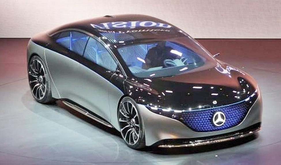 The Mercedes Vision EQS