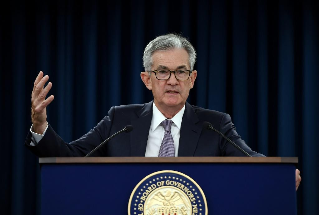 "The liquidity crunch has ""no implications for the economy or the stance of monetary policy,"" US Fed Chairman Jerome Powell said"