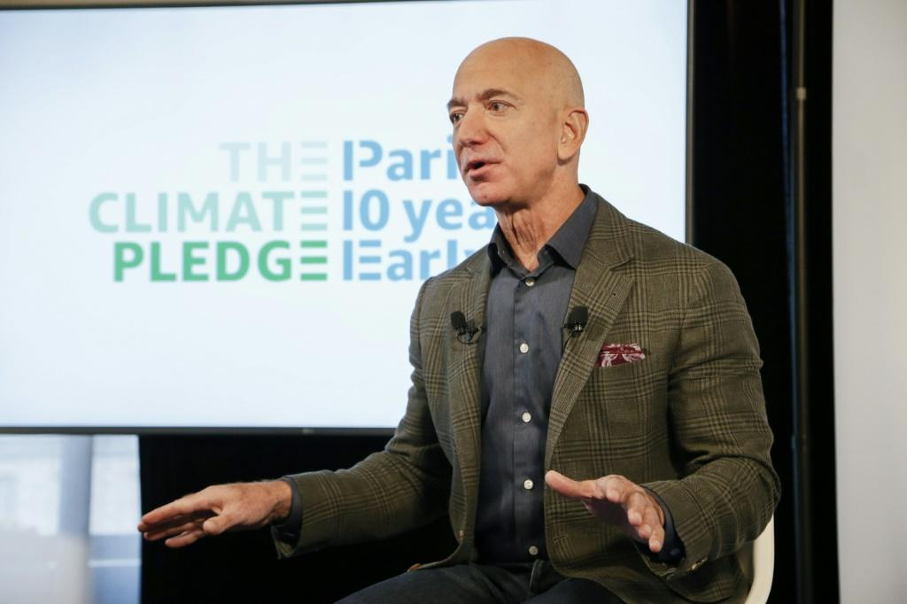 Amazon CEO Jeff Bezos announces the co-founding of The Climate Pledge, which aims to make the tech giant carbon neutral by 2040 while encouraging other companies to join the initiative