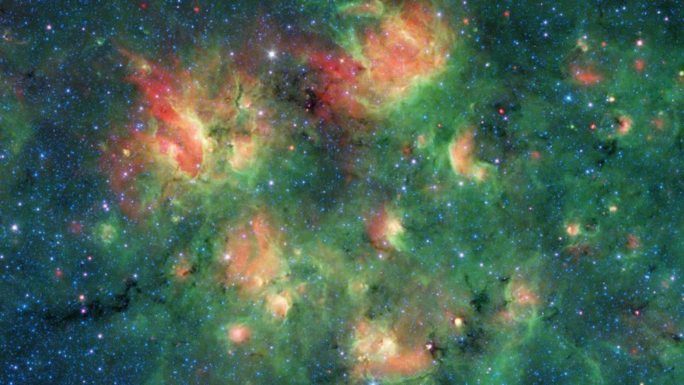 NASA's Spitzer Space Telescope Captured Bubbles In Star Cluster