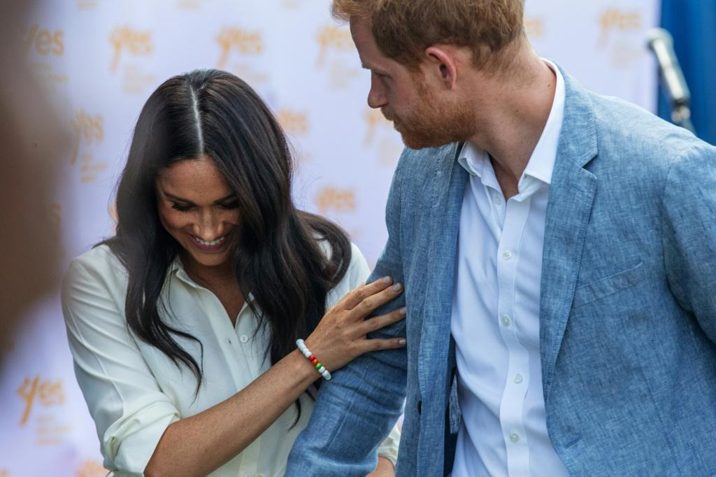 "Britain's Prince Harry says his wife Meghan faces ""relentless propaganda"