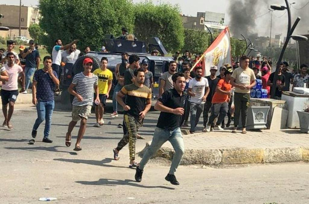 Demonstrators are protesting against state corruption, failing public services and high unemployment in the first significant popular challenge to Prime Minister Adel Abdel Mahdi