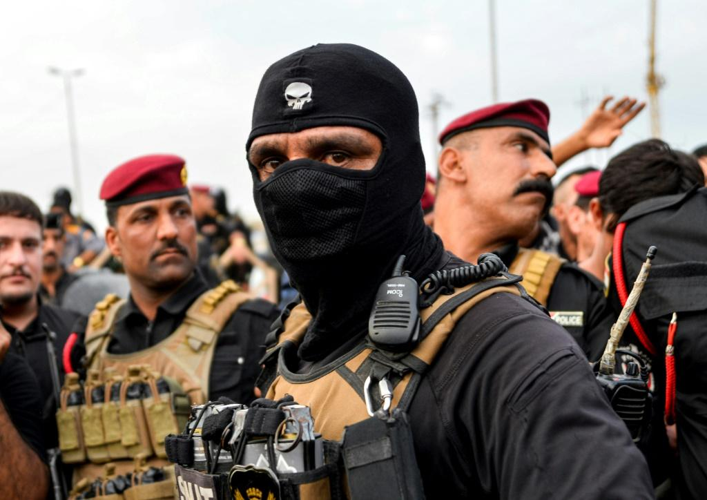 """Iraqi Prime Minister Adel Abdel Mahdi paid tribute to the security forces after Tuesday's protests but President Barham Saleh condemned the violence, saying: """"Peaceful protest is a constitutional right"""