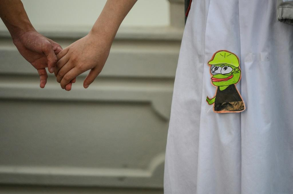 New protest-themed variations of Pepe have emerged in Hong Kong, transforming him into a pro-democracy Everyman