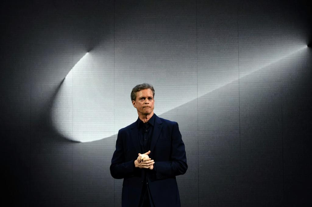 Nike CEO Mark Parker, seen in New York in 2016