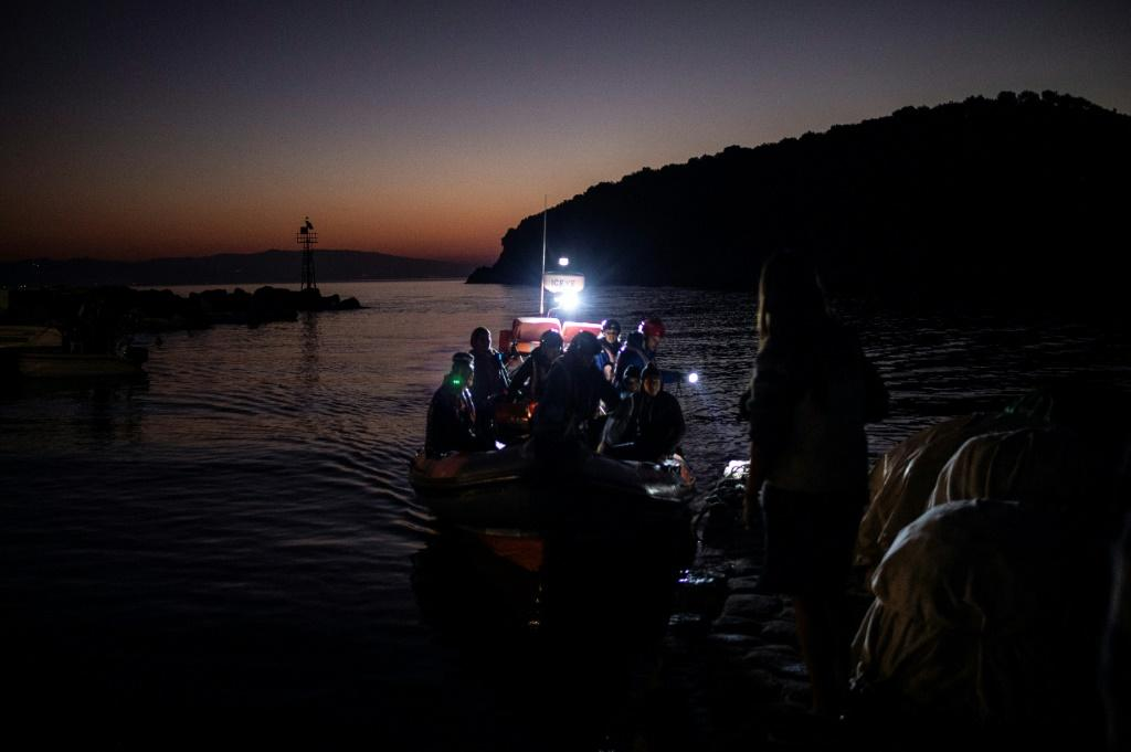 The surge in arrivals has left an already overburdened Greek asylum camp network struggling to cope