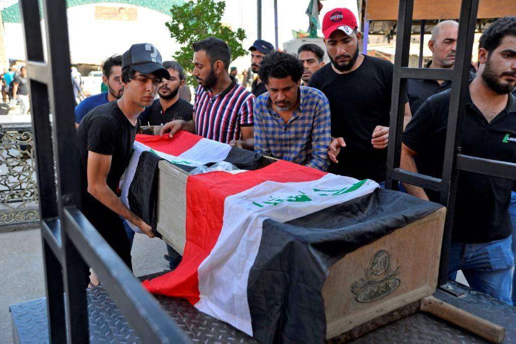 At least 37 people have been killed and hundreds injured since protests erupted in Baghdad on Tuesday before spreading across the Shiite-dominated south
