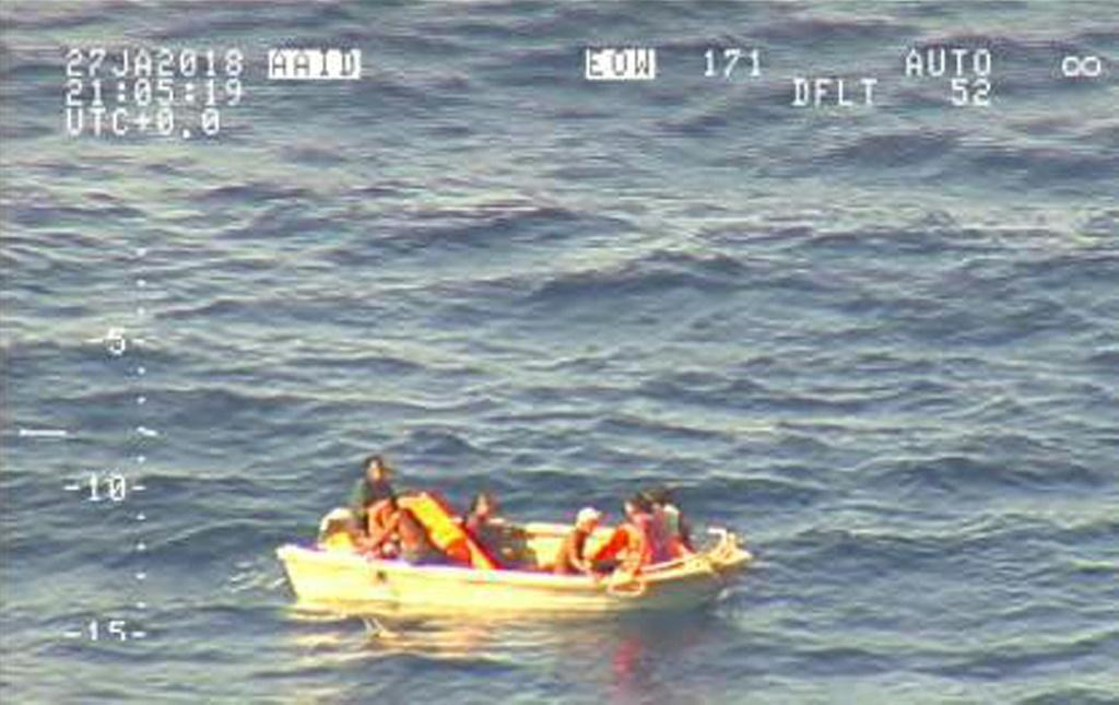 Woman, 47, survives two days floating in dinghy by eating boiled candies