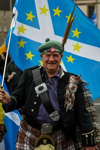 Pro-independence campaigners say another vote on breaking away from Britain is necessary because Scotland voted heavily against quitting the European Union